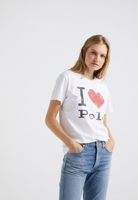 Polo Ralph Lauren - Camiseta estampada - white - 0