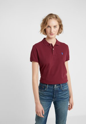 BASIC  - Polo shirt - classic wine