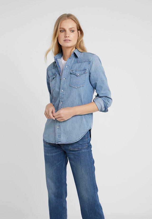 KATHERINE WASH - Camicia - medium indigo