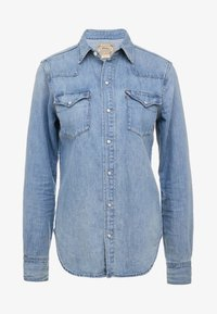 Polo Ralph Lauren - KATHERINE WASH - Button-down blouse - medium indigo