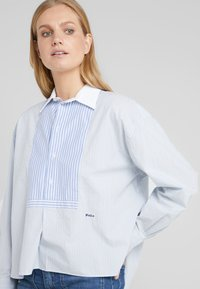 Polo Ralph Lauren - Button-down blouse - medium blue - 3