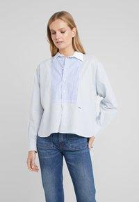 Polo Ralph Lauren - Button-down blouse - medium blue - 0