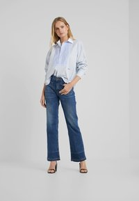 Polo Ralph Lauren - Button-down blouse - medium blue - 1