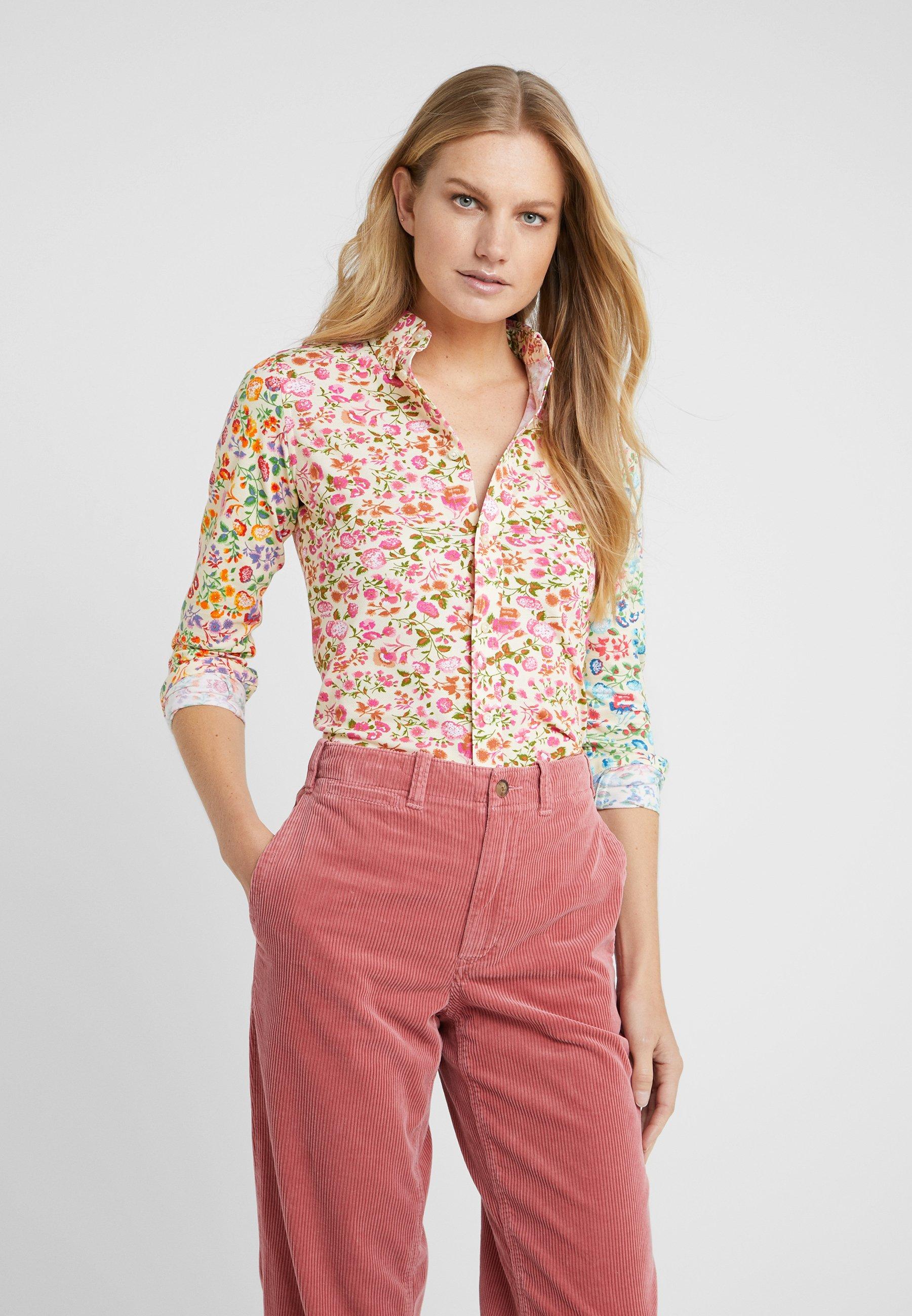 Polo Ralph Lauren OXFORD - Koszula - blush/multi