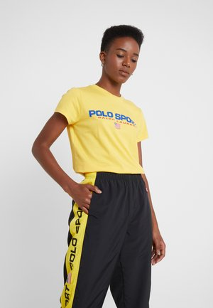 SPORT - T-shirt con stampa - chrome yellow
