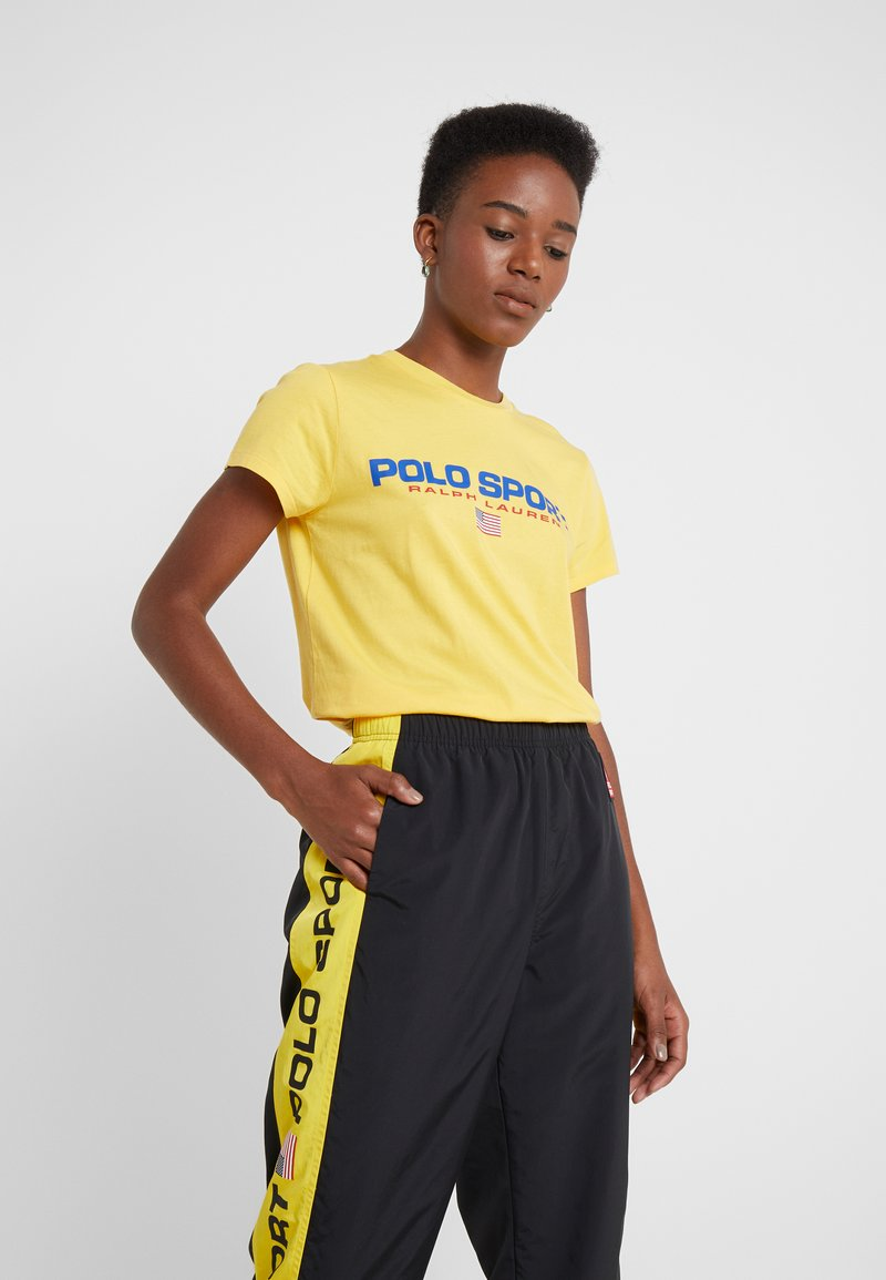 Polo Ralph Lauren - SPORT - Camiseta estampada - chrome yellow