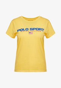 Polo Ralph Lauren - SPORT - Camiseta estampada - chrome yellow - 3