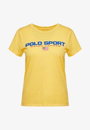 SPORT - T-shirt imprimé - chrome yellow
