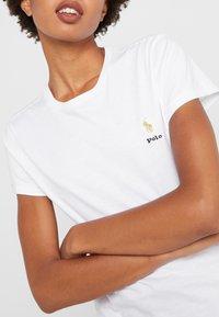 Polo Ralph Lauren - Basic T-shirt - white - 4