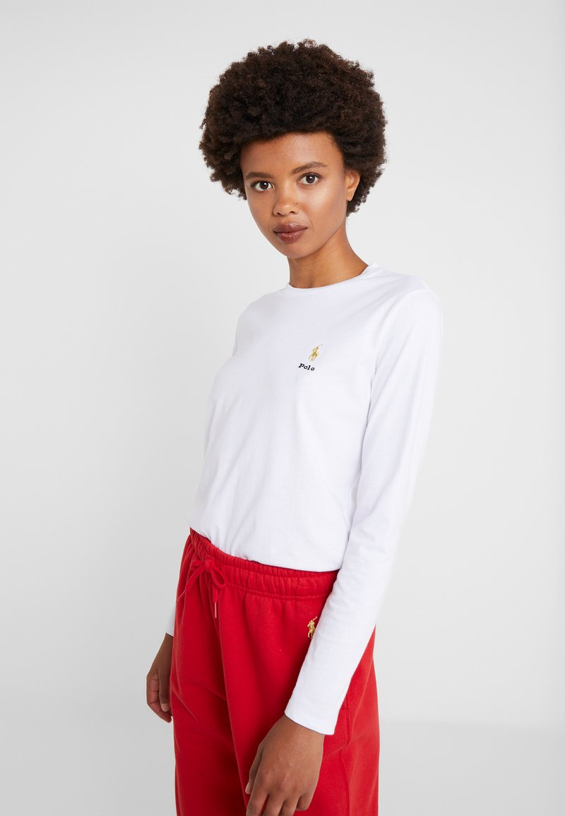 Polo Ralph Lauren - Camiseta de manga larga - white