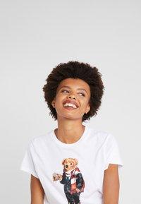 Polo Ralph Lauren - Camiseta estampada - white - 3
