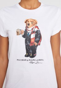 Polo Ralph Lauren - Camiseta estampada - white - 5