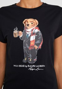 Polo Ralph Lauren - Camiseta estampada - black - 4