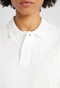 Polo Ralph Lauren - FIT SHORT SLEEVE - Polotričko - deckwash white - 5