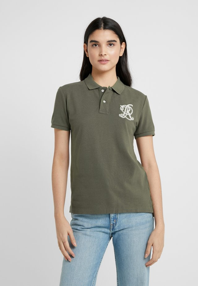FIT SHORT SLEEVE - Polo - defender green