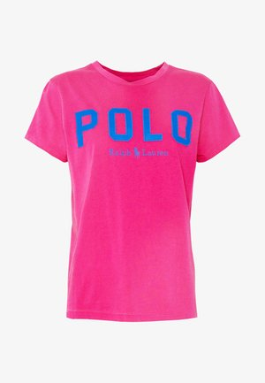 T-shirts med print - accent pink