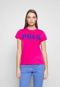 Polo Ralph Lauren - T-shirt con stampa - accent pink - 0