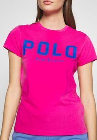 Polo Ralph Lauren - T-shirt con stampa - accent pink - 5