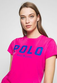 Polo Ralph Lauren - T-shirt con stampa - accent pink - 3