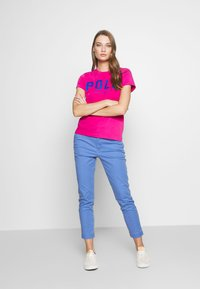 Polo Ralph Lauren - T-shirt con stampa - accent pink - 1
