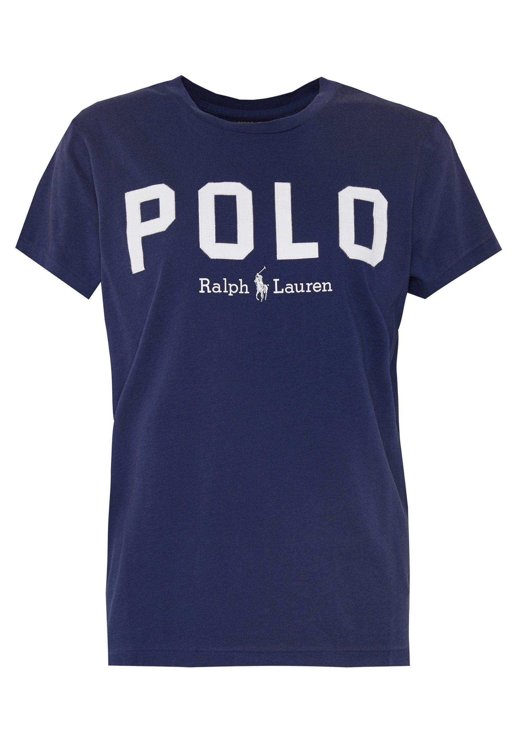 Polo Ralph Lauren T-shirt z nadrukiem - holiday navy