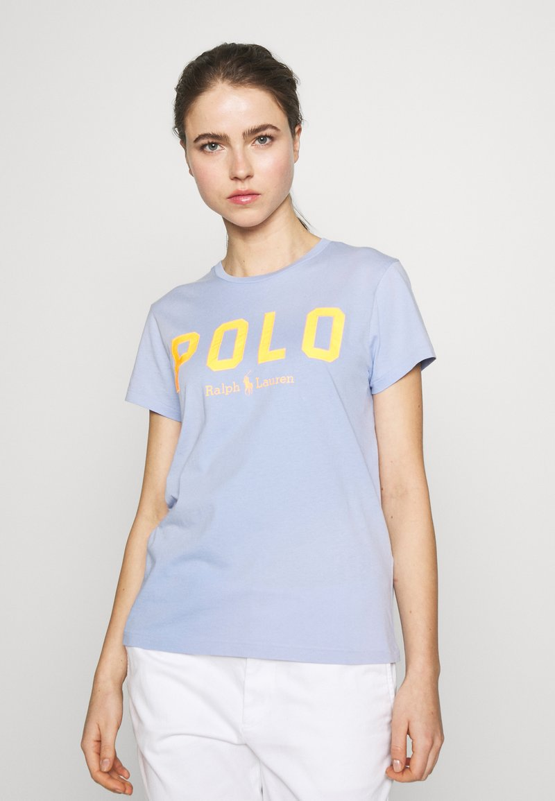 Polo Ralph Lauren - T-shirt con stampa - dress blue