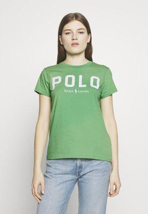 T-shirt print - tiller green