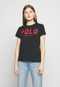 Polo Ralph Lauren - Camiseta estampada - black - 0