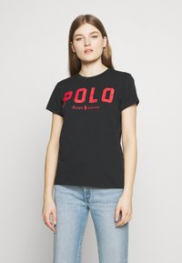 Polo Ralph Lauren - T-shirt con stampa - black - 0