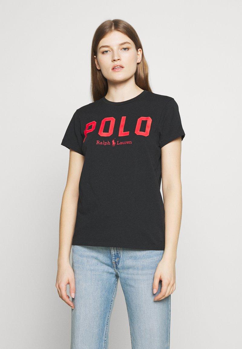 Polo Ralph Lauren - Camiseta estampada - black