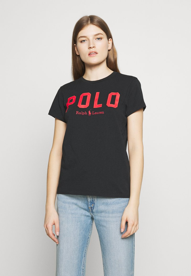 Polo Ralph Lauren - T-shirt con stampa - black