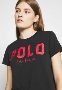 Polo Ralph Lauren - Camiseta estampada - black - 4