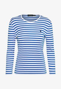 Polo Ralph Lauren - STRIPE - Longsleeve - white/spa royal - 0