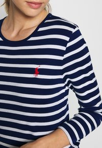 Polo Ralph Lauren - STRIPE - Top s dlouhým rukávem - holiday navy - 4