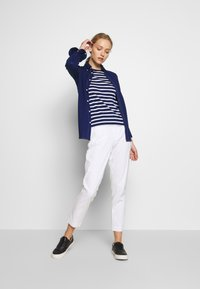 Polo Ralph Lauren - STRIPE - Top s dlouhým rukávem - holiday navy - 1