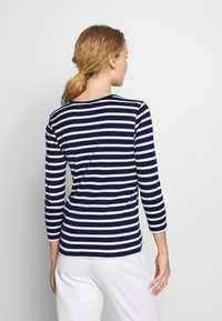 Polo Ralph Lauren - STRIPE - Top s dlouhým rukávem - holiday navy - 2