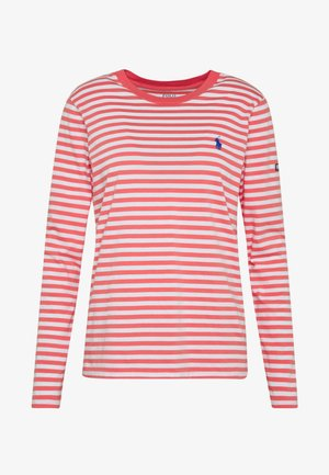 Long sleeved top - amalfi red/white