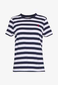 Polo Ralph Lauren - TEE SHORT SLEEVE - Camiseta estampada - dark blue/white - 3