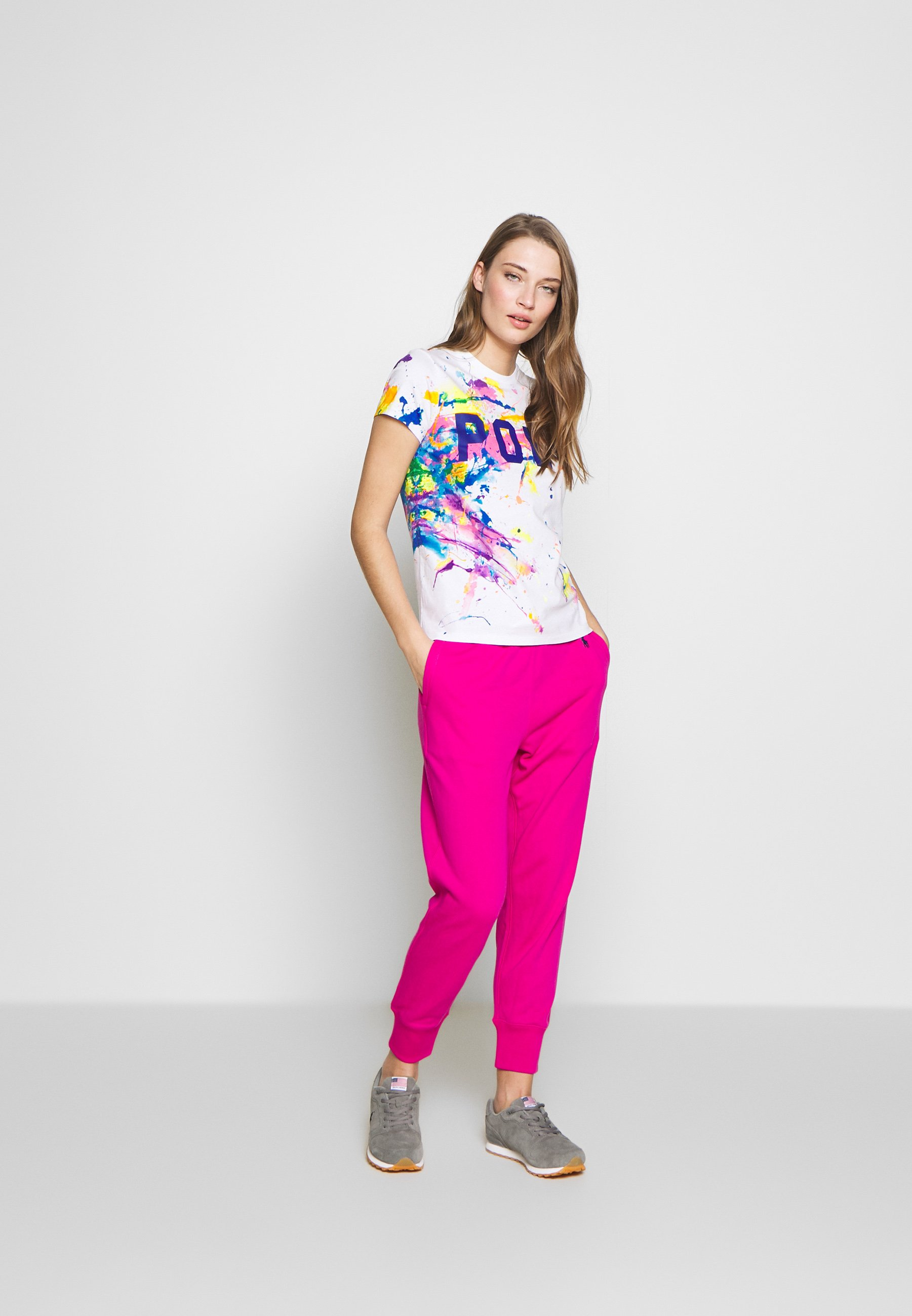 Polo Ralph Lauren T-shirt Med Print - Paint Splatter