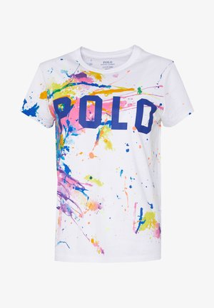 T-shirt con stampa - paint splatter