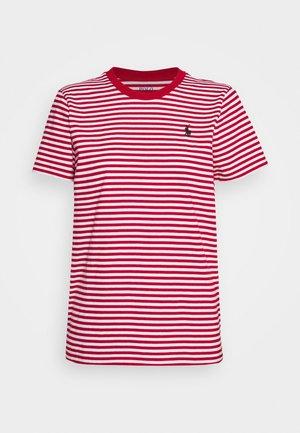 T-shirt z nadrukiem - red/white