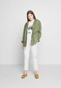 Polo Ralph Lauren - SASH BEAR LONG SLEEVE - Long sleeved top - white - 1