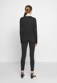 Polo Ralph Lauren - SASH BEAR LONG SLEEVE - Long sleeved top - polo black - 2