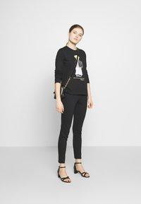 Polo Ralph Lauren - SASH BEAR LONG SLEEVE - Long sleeved top - polo black - 1