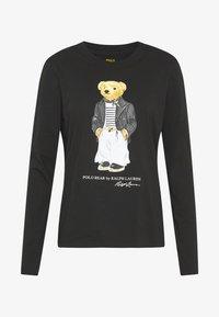 Polo Ralph Lauren - SASH BEAR LONG SLEEVE - Long sleeved top - polo black - 3