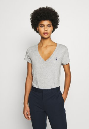 Basic T-shirt - cobblestone heather