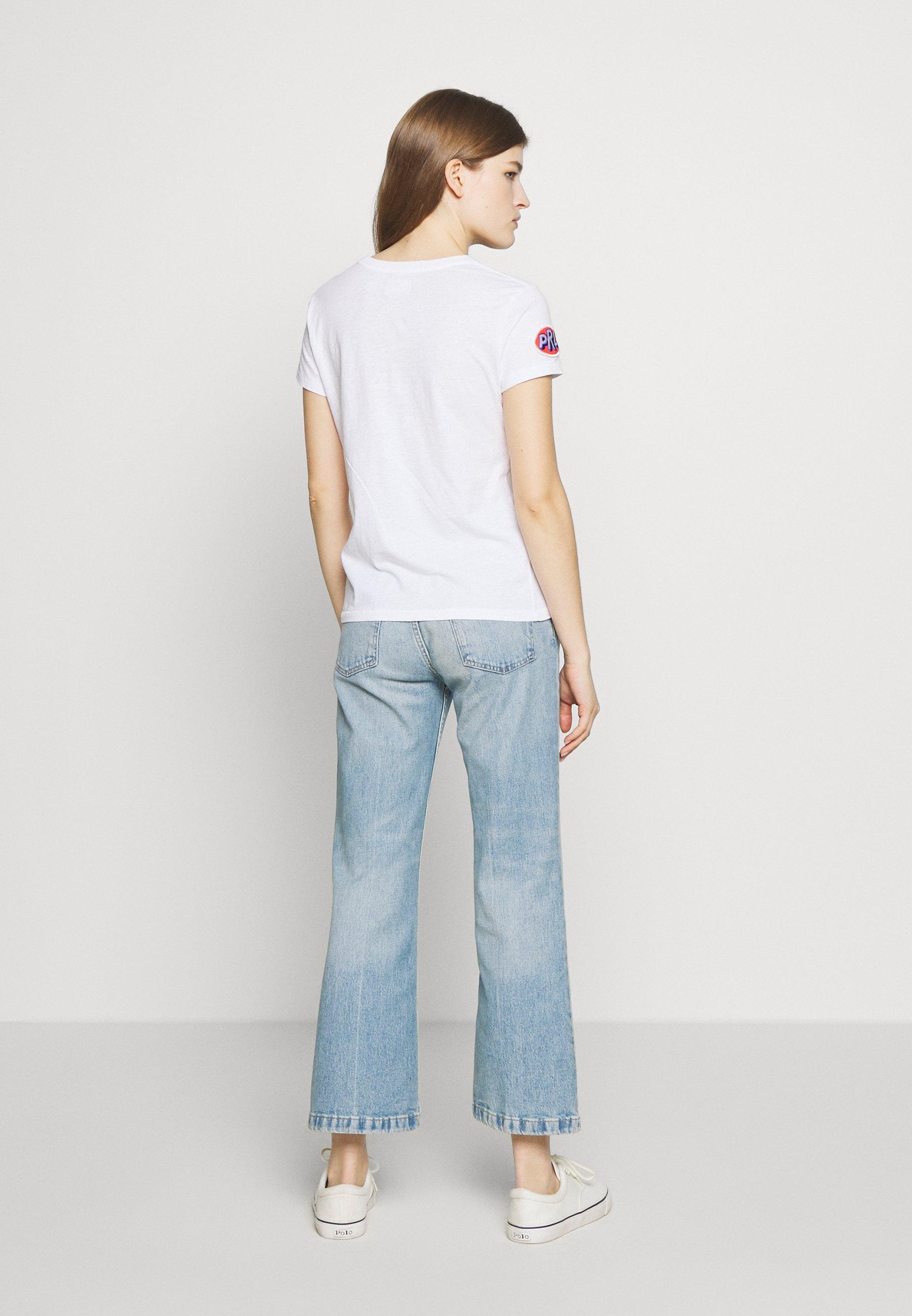 Polo Ralph Lauren SHORT SLEEVE - T-shirts med print - white