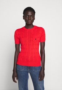 Polo Ralph Lauren - TEE SHORT SLEEVE  - T-shirt basic - african red - 0