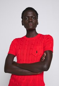 Polo Ralph Lauren - TEE SHORT SLEEVE  - T-shirt basic - african red