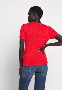 Polo Ralph Lauren - TEE SHORT SLEEVE  - T-shirt basic - african red - 2
